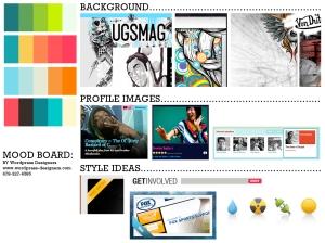 Digital Mood Board
