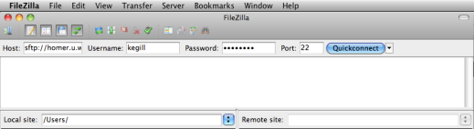 How To: Using Filezilla - WiredPen
