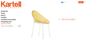 KartellStoreLA website