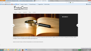 Frahmcomm screenshot